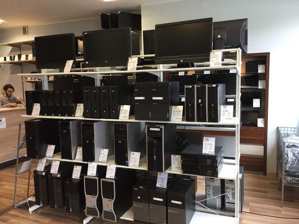 Komputer laptop monitor drukarka telefon
