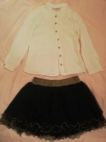 Koszula i spódnica rozmiar 110
