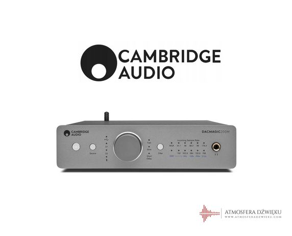 Cambridge Audio DAC Magic 200 Przetwornik C/A MQA Atmosfera Dźwięku