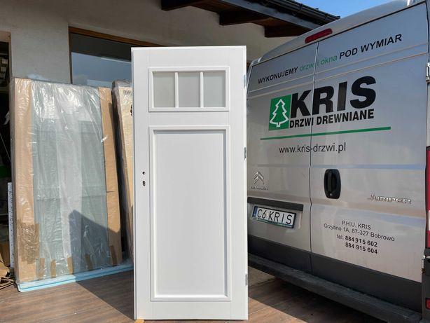 Drzwi wewnętrzne drewniane biał francuskie OD RĘKI CAŁA POLSKA