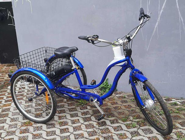 Rower trójkołowy SCHWINN z napędem elektrycznym