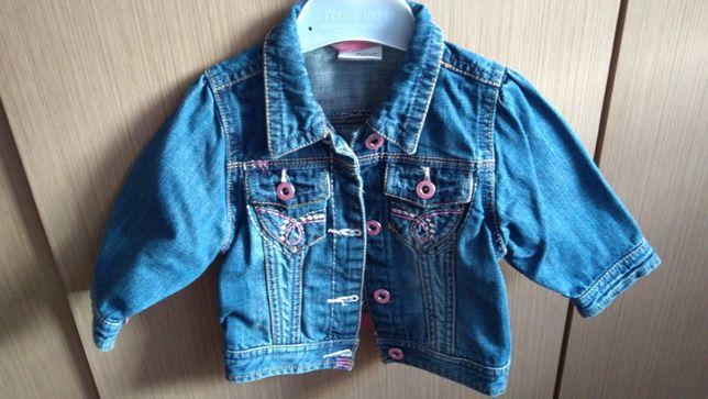 Kurteczka jeans katana NEXT r.74