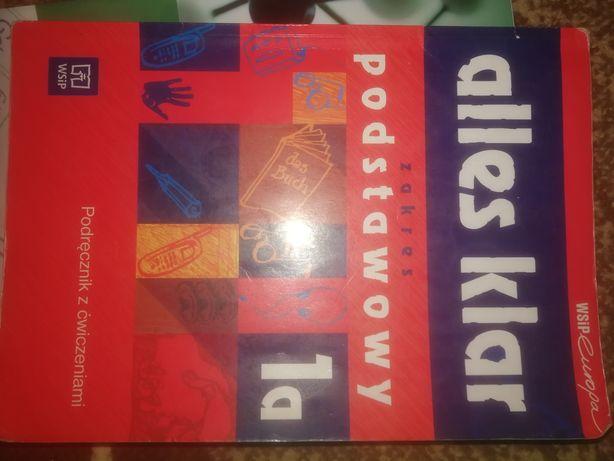 Sprzedam podręcznik z cwiczeniami alles klar zakres podstawowy