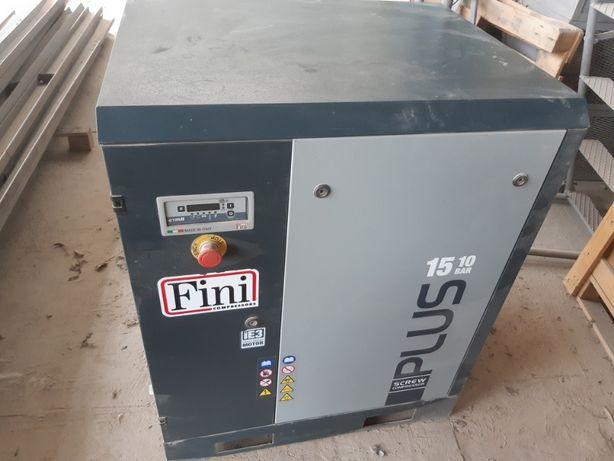 Sprężarka śrubowa, kompresor śrubowy Fini 15kW 1850l/min
