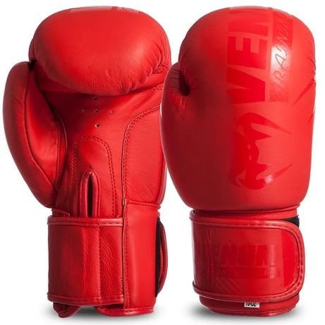 Кожаные боксёрские перчатки +бинты