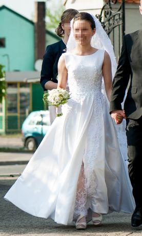Prosta suknia ślubna XS