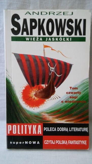 Wieża Jaskółki Andrzej Sapkowski