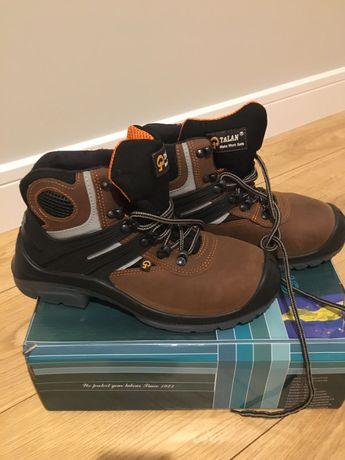 TALAN  skórzane buty  robocze rozmiar 40