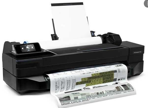 Plotter HP Designjet T120 24'' (CQ891A) até A1
