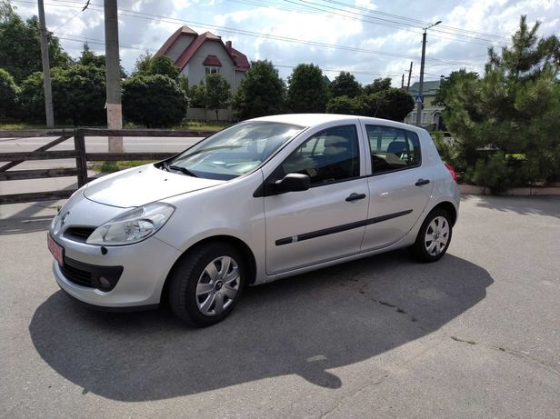 Renault Clio 2007 г.в. Из Швеции.