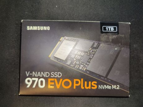 SSD накопитель Samsung 970 EVO Plus 250 GB Новый! Читать описание!