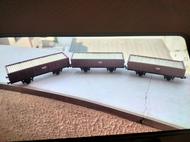 Vagons novos CP robustos