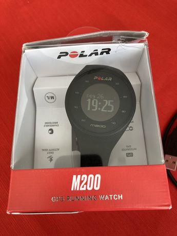 Polar M200, gps, running