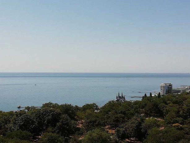 Красивая студия в Аркадии с видом на море!! ST