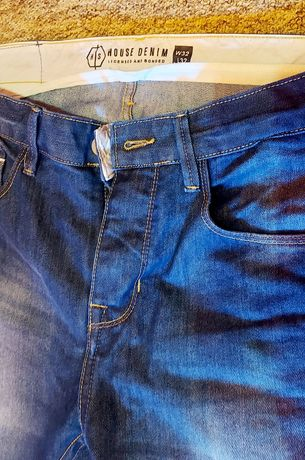 Spodnie męskie jeans house