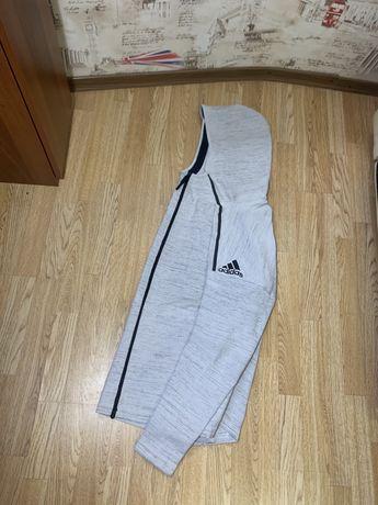 Adidas men's full zip hoodie z.n.e. full primeknit hd cf0636 зип худи