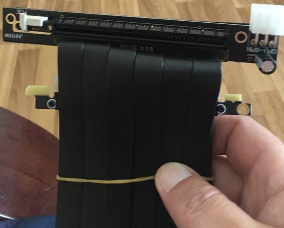 Рейзер ETHMining PCI-E X16 - 16X, RTX 3060 RTX 3070 RTX 3080 с 6 пин п