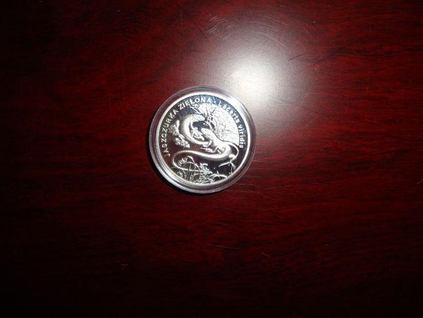 Monety 20 zł -stan bankowy.Tanio-zwierzęta