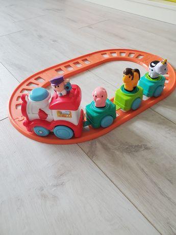 Поезд, паровозик, потяг, рельсы, сортер