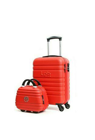 Walizka podróżna kabinowa plus kuferek nowe Paryż do samolotu