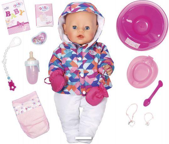 2 ПО ЦЕНЕ 1 Кукла Baby born Нежные объятия Зимняя Красавица 826140