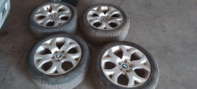 Jantes 18 com pneus bmw x3 pack M style 114