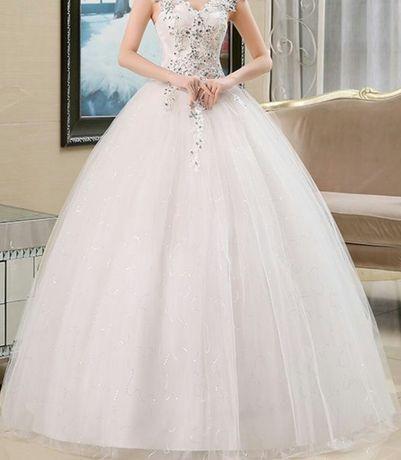 Suknia Ślubna z kołem