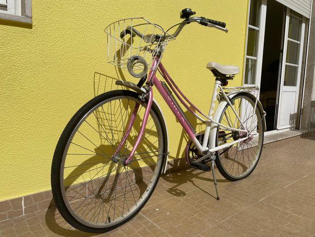 Bicicleta vintage para restauro