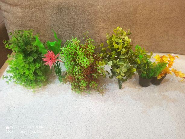 Rosliny sztuczne do akwarium