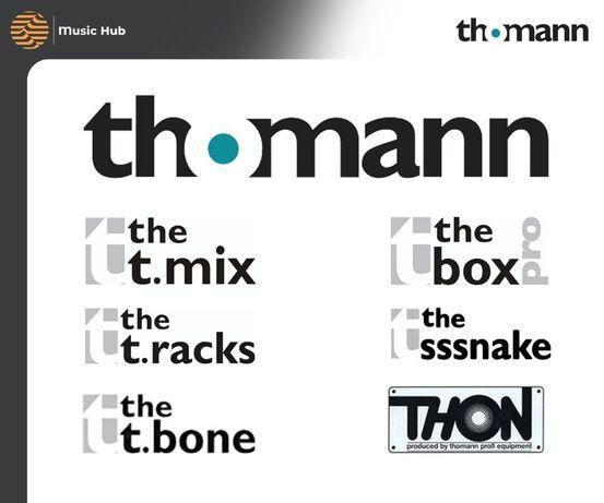 ДОСТАВКА the t.mix t.box pro t.racks sssnake bone с THOMANN.DE ssnake