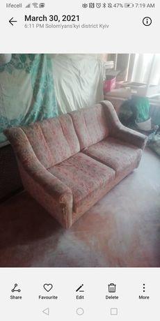 Кресло, диван.