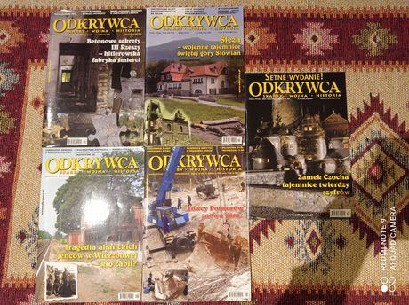 Odkrywca czasopismo 2006,2007