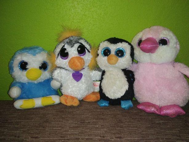 Набор пингвины глазастики ty, nature planet, rescue pets