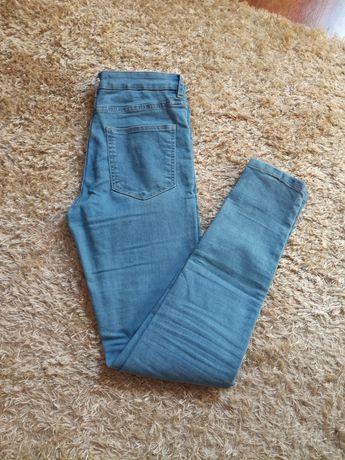 Spodnie sinsay niebieskie