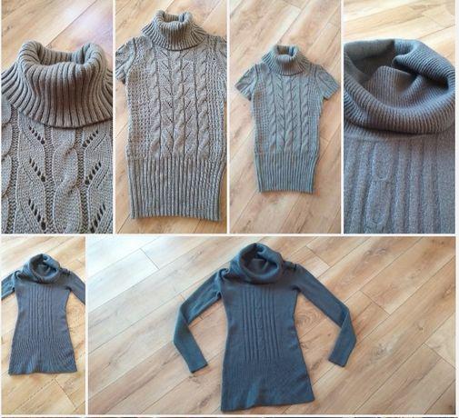 Sweter sweterek golf bezrękawnik r L Nowe