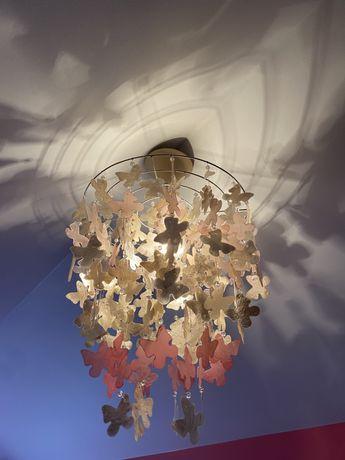 Żyrandol lampa wisząca MOTYLE