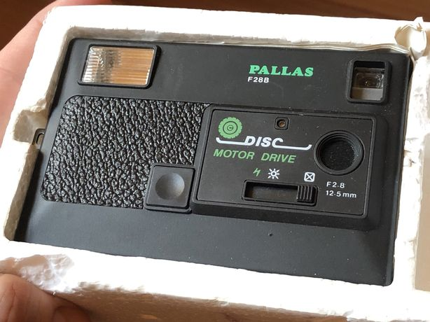 Disc camera PALLAS F28B aparat fotograficzny