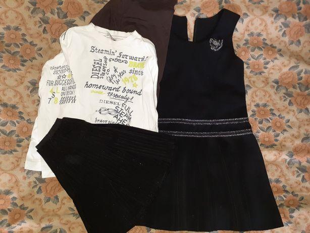 Школьный сарафан, юбка, гольф на девочку на 1-3 класс
