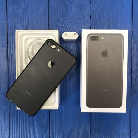 iPhone 7 Plus 32 gb neverlock space gray в лучшем состоянии,гарантия