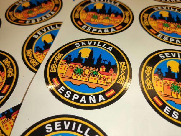Autocolante Sevilha Espanha sticker BMW GS 1200 F800 Honda Suzuki