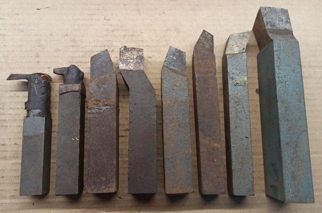 Nóż noże tokarskie - zestaw 8 sztuk mix nowe