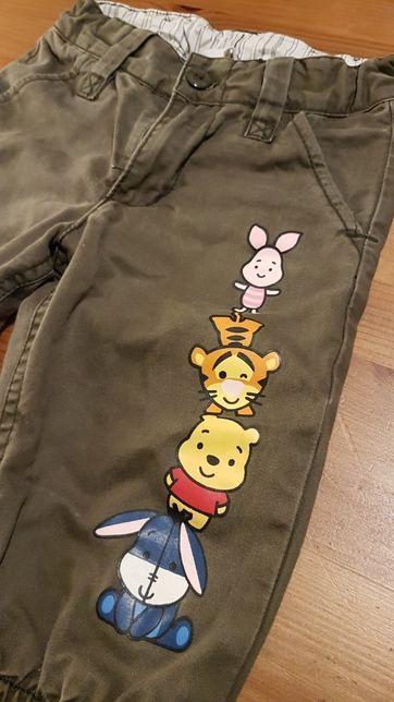 Spodnie Disney H&M 74-80