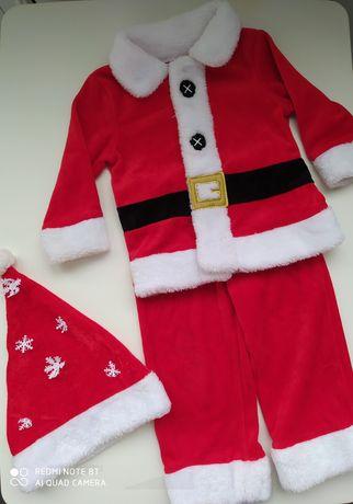 Новогодний, карнавальный костюм  Санта Клаус 12-18 м, 86 см