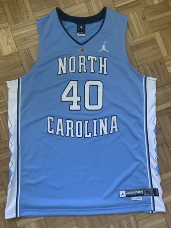 Koszulka meczowa North Carolina Authentic Game Jersey Jordan XL