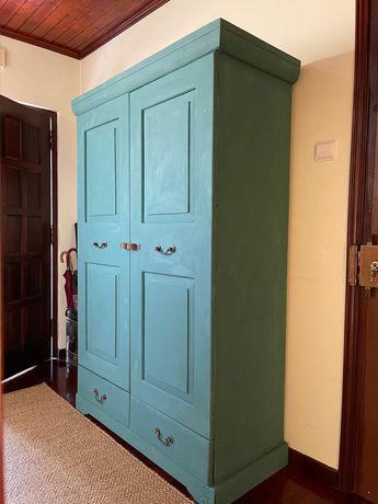 armario, aparador, louceiro, estante, vintage, rustico