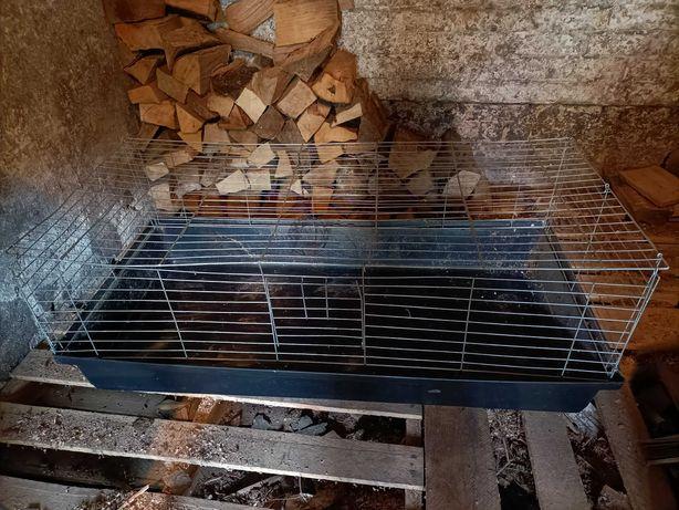 Duża klatka dla królika