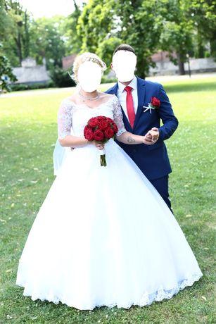 Suknia Ślubna, kolor: biała