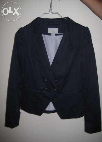 Casaco H&M azul escuro - 36