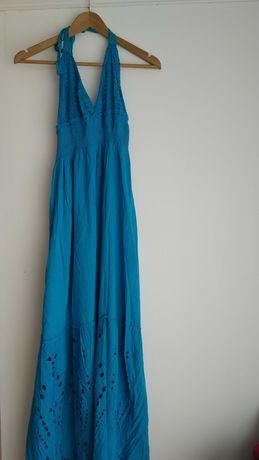 Vestido longo e vestido curto
