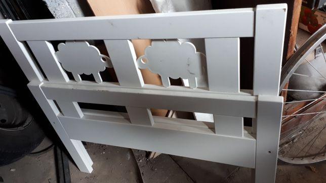 Łóżeczko i materac Ikea 70x160